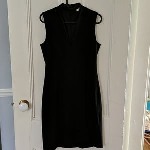 J Crew black lined dress